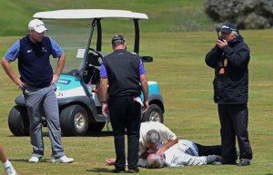 ゴルフ突然死